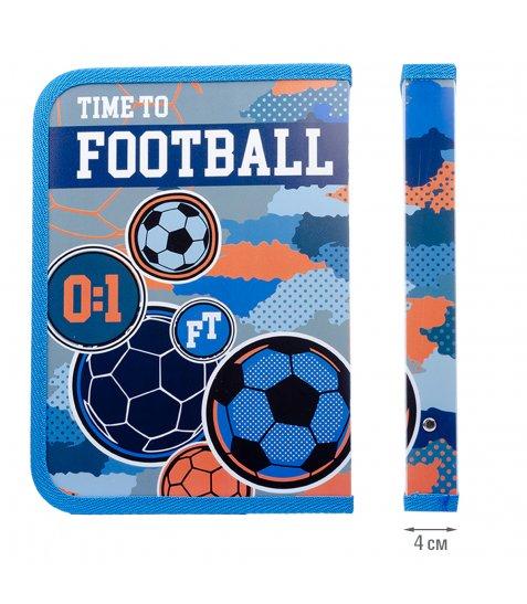 """Папка для зошитів YES пласт. на блискавки В5 """"Football"""""""