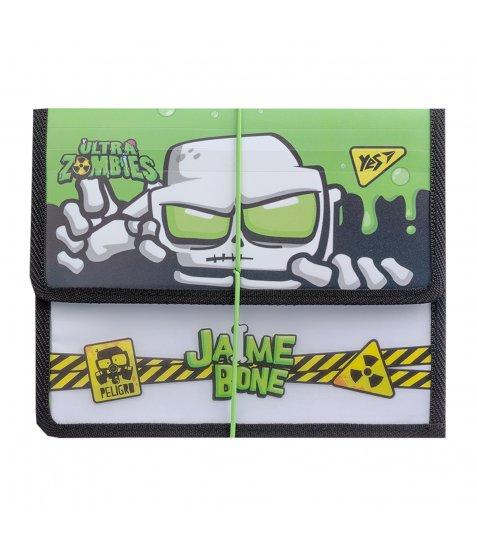 """Папка для зошитів YES пласт. на резинці  В5 """"Zombie"""""""