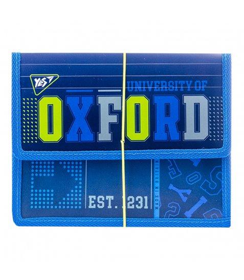 """Папка для зошитів YES пласт. на резинці  В5 """"Oxford"""""""
