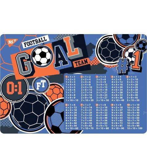 """Підкладка для столу YES дитяча """"Football"""", множ. - фото 1 з 1"""
