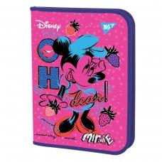 """Папка для зошитів YES пласт. на блискавки В5 """"Minnie Mouse"""""""