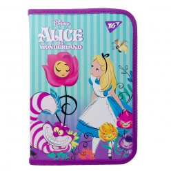 "Папка для зошитів YES пласт. на блискавці В5 ""Alice"""