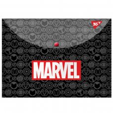 """Папка-конверт YES на кнопці А4 """"Marvel.Avengers"""""""