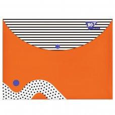 "Папка-конверт YES на кнопці А4 ""Erudite"""