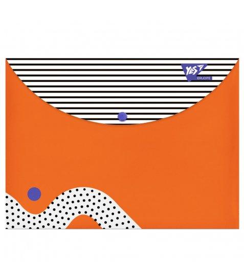 """Папка-конверт YES на кнопці А4 """"Erudite"""" - фото 1 з 1"""