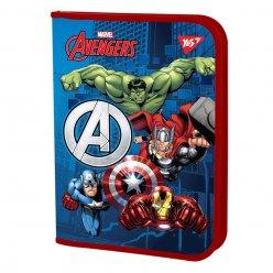 """Папка для зошитів YES пласт. на блискавки В5 """"Marvel.Avengers"""""""