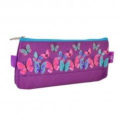 Пенал м'ягкий  YES  Butterfly purple, 20*8*3
