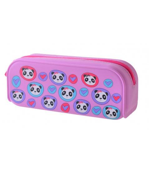 Пенал силіконовий YES  Lovely panda, 7.5*18*5.5