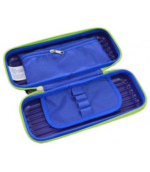 Пенал твердий  YES 3D Oxford ОX5596 синій, 21*9.5*5