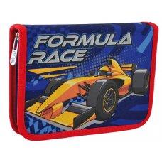 "Пенал твердий YES одинарний з клапаном  HP-03 ""Formula Race"""