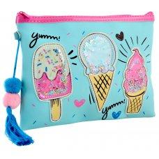 "Pencil case-make up bag TP-13 ""Ice Cream"""