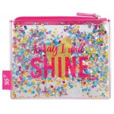 """Пенал-косметичка YES с блестками """"Shine"""""""
