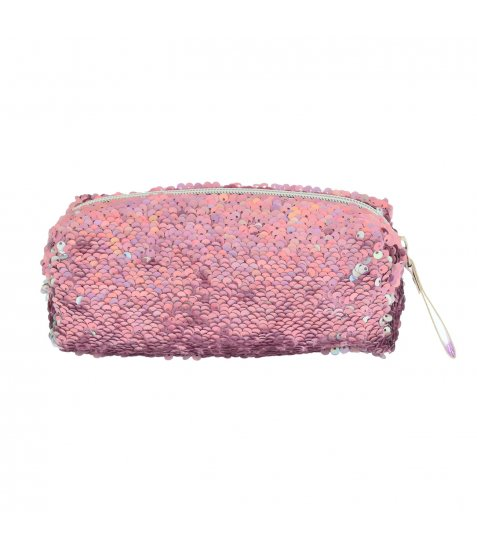 Пенал-косметичка YES GP-01 ''Pink Sequins'' - фото 4 з 4
