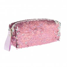 Пенал-косметичка YES GP-01 ''Pink Sequins''