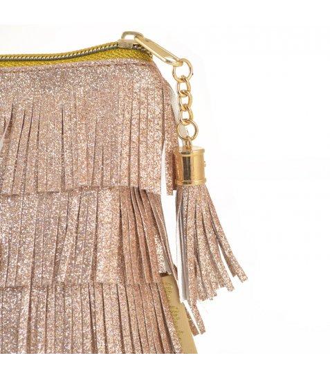 Пенал-косметичка YES  «Charm», золотая