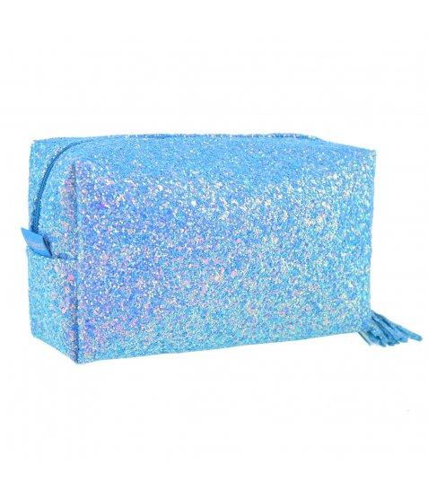 Пенал-косметичка YES  «Supra», блакитна