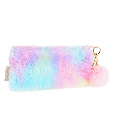 Пенал-косметичка YES  «Furry», рожева