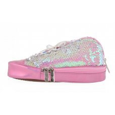 Пенал м'який YES TP-24  ''Sneakers with sequins'' pink
