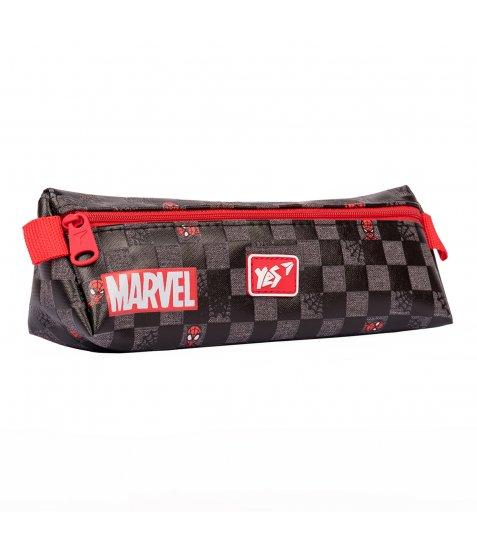 """Пенал м`який YES UN-01  """"Marvel.Spiderman"""", чорний"""