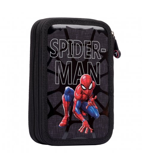 """Пенал твердий YES подвійний HP-01  """"Marvel.Spider-Man"""", сірий - фото 2 з 3"""