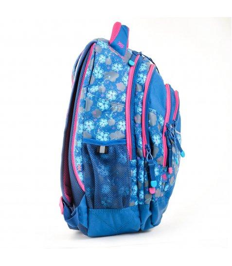 """Рюкзак для підлітків YES  Т-12 """"Forget-me-nots"""", 46,5*33*15см - фото 5 з 8"""