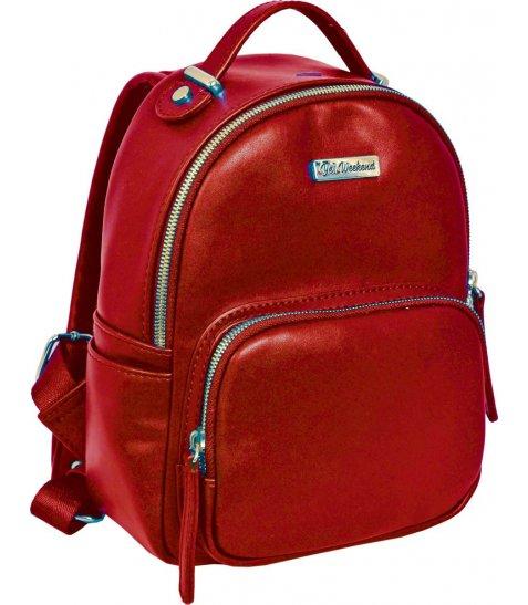 Сумка-рюкзак  YES, червоний, 17*9*25см