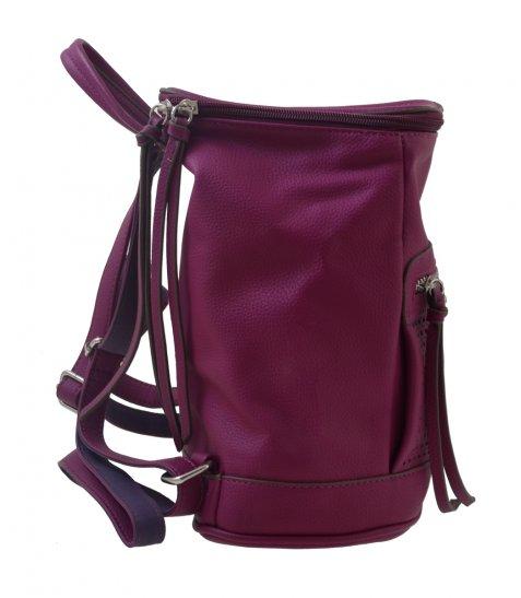 Сумка-рюкзак, сливова, 26 * 14 * 27см