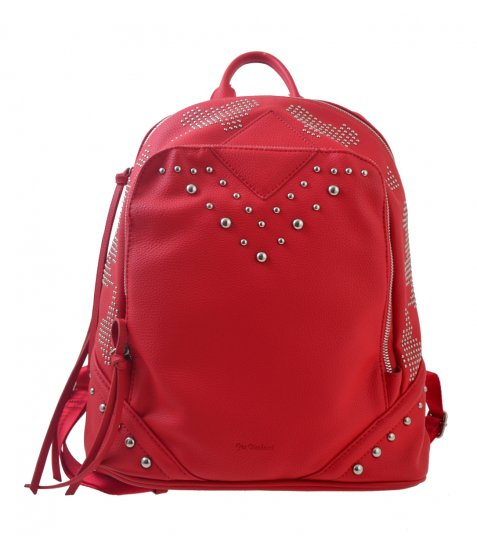 Сумка-рюкзак  YES, червоний, 29*14*33см
