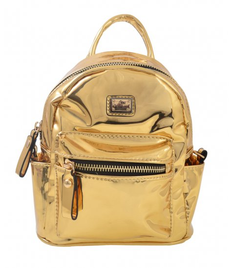 Сумка - рюкзак Mirorr gold, 17*20*8