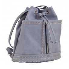 Сумка - рюкзак, сірий , 29*25*15