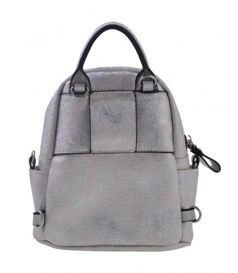 Сумка-рюкзак  YES, срібло, 17*20*8см
