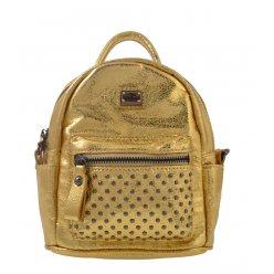 Сумка-рюкзак, золота, 17*20*8см