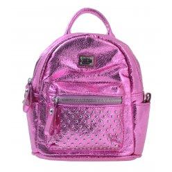 Сумка-рюкзак, рожева, 17*20*8см