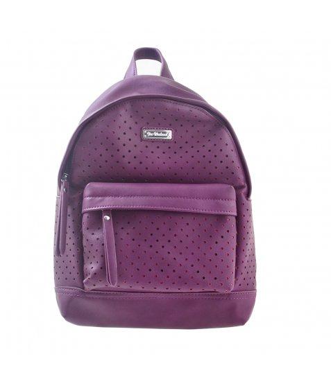 Сумка-рюкзак  YES, баклажан, 23.5*33*11см