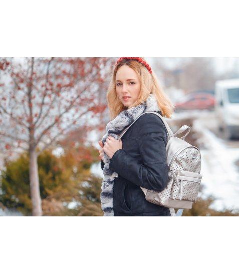 Сумка-рюкзак  YES, сірий, 23.5*33*11см