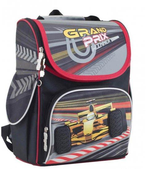 Рюкзак шкільний каркасний  YES  H-11 Grand prix, 34*26*14