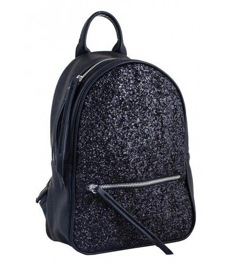 Сумка - рюкзак, чорний, 30*21*10