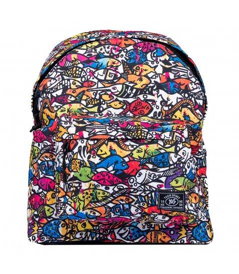 Рюкзак підлітковий ST-15 Crazy 03, 31*41*14 - фото 1 з 1