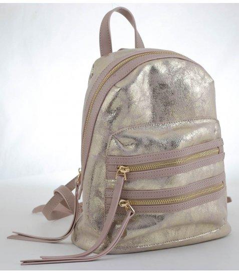 Сумка - рюкзак, золото, 27*22*10.5