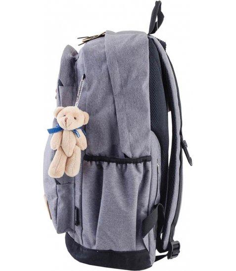 Рюкзак для підлітків YES  OX 190, сірий, 32*45.5*16.5