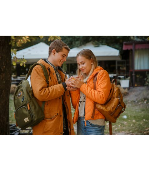 Рюкзак для підлітків YES  OX 321, зелений, 28.5*44.5*13