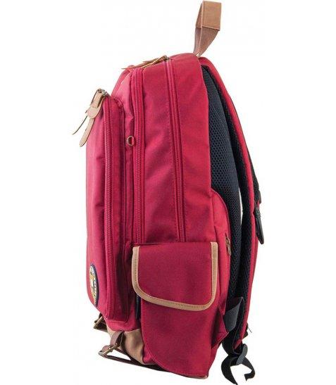 Рюкзак для підлітків YES  OX 186, червоний, 29.5*45.5*15.5