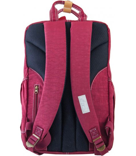 Рюкзак для підлітків YES  OX 195, бордовий, 27.5*42*12