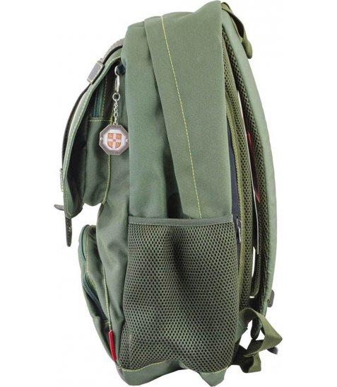 Рюкзак для підлітків YES  CA 080, зелений, 31*47*17 - фото 3 з 8