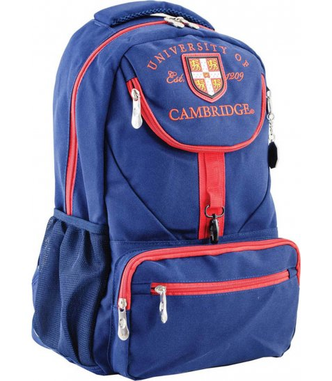 Рюкзак для підлітків YES  CA 078, синій, 31*47*17