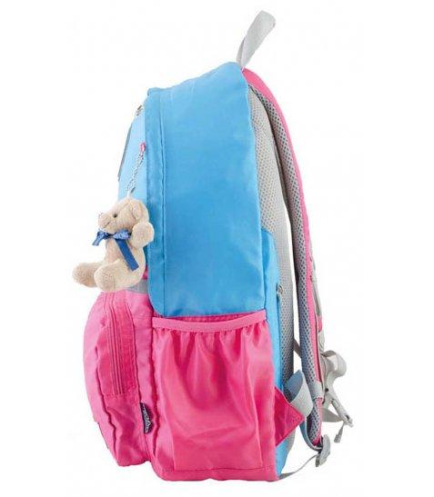 Рюкзак для підлітків YES  OX 311, блакитний-рожевий, 29*45*13
