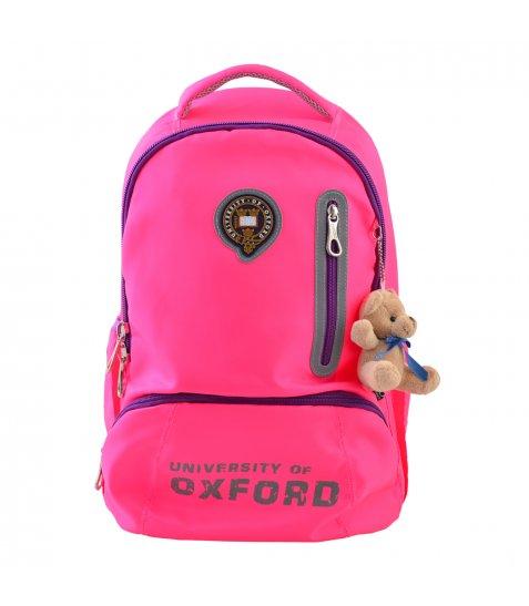 Рюкзак для підлітків YES  OX 280, рожевий, 29*45.5*18