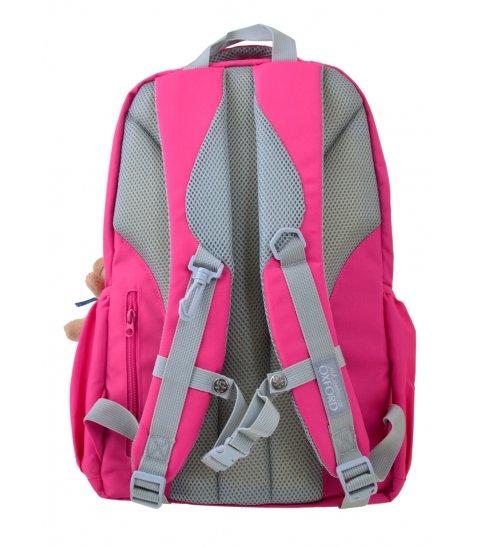 Рюкзак для підлітків YES  OX 323, рожевий, 29*46*13