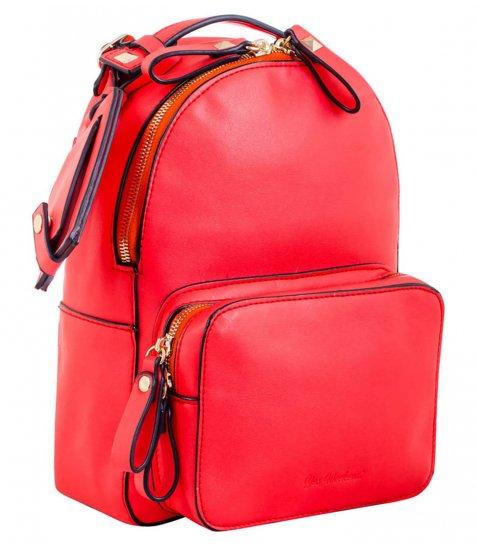 Сумка - рюкзак, червоний, 26*18*9