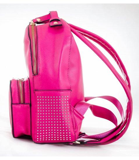 Сумка - рюкзак, рожевий, 26*18*9